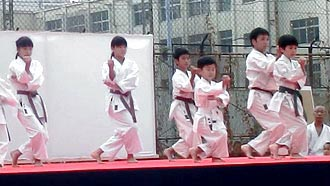 第5回SARUGAKU祭 空手演武 | 平安五段