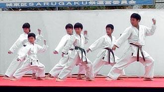 第5回SARUGAKU祭 空手演武 | 平安五段2