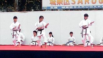 第5回SARUGAKU祭 空手演武 | バッサイ大2