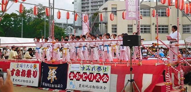 大阪 城東 すみれ祭り