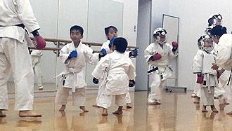 鶴見スポーツセンター 空手 追加練習1