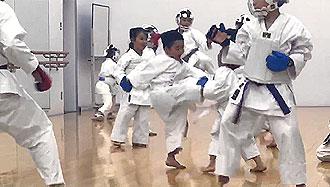 鶴見スポーツセンター 空手 追加練習2