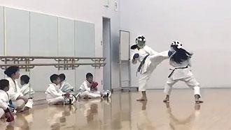 鶴見スポーツセンター 空手 追加練習4