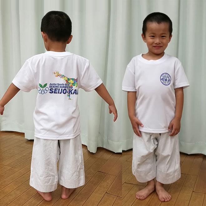 道場Tシャツ(空手Tシャツ)