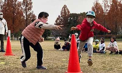 2020年野外ゲーム大会(晴城会 城東区 空手)