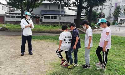 2020-10-11(日) まつり リレー&ムカデ競争練習(古市西北公園)
