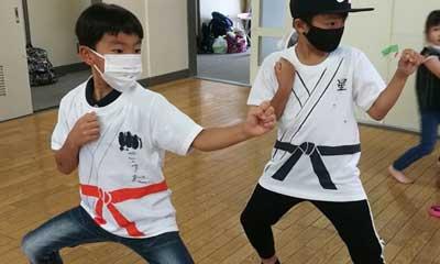 2020-10-11(日) スポーツ少年団まつり用 空手着Tシャツ作成