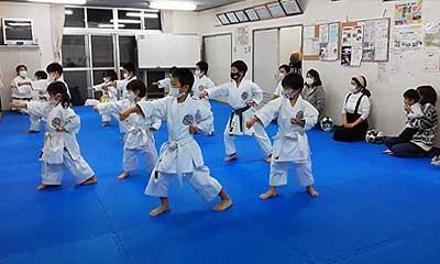 親子で平安二段練習
