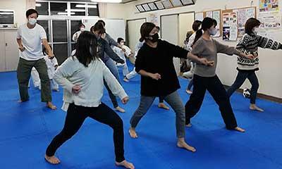 2020-11-13(金) 幼児クラス、親子で平安二段練習!