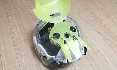 メンホー用マウスシールド(飛沫防止 感染症対策)