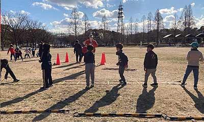 2021-01-09(土) 屋外練習(鶴見緑地公園)