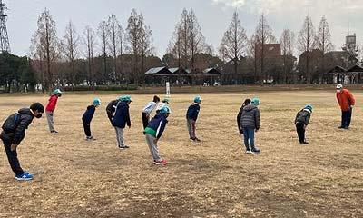 2021年1月16日野外練習(晴城会 城東区 空手)