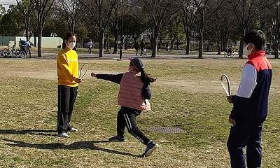 2021年1月30日野外練習(晴城会 城東区 空手)