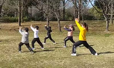 2021-01-30(日) 屋外練習 鶴見緑地公園