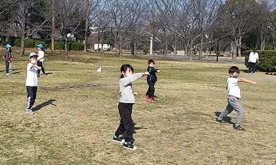 2021年2月6日野外練習(大阪市城東区 関目空手道スポーツ少年団)