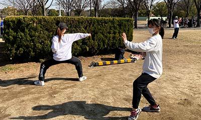 2021-02-06(土) 屋外練習 鶴見緑地公園