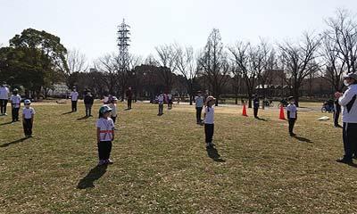 2021-02-13(土) 屋外練習 鶴見緑地公園