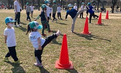2021-02-21(日) 屋外練習 鶴見緑地公園