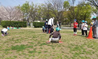 2021年3月27日空手野外練習(鶴見緑地 空手)