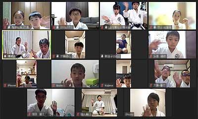 2021-08-18 空手形 WEB体験講習会(チャタンヤラクーサンクー)