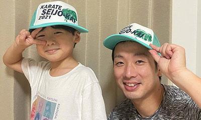 2021年拳型で帽子作成(晴城会 城東区 空手)