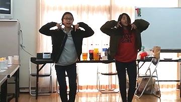 マナカとシズキのTTダンス