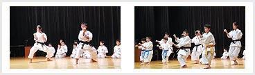 スポーツ少年団 記念式典 形演武