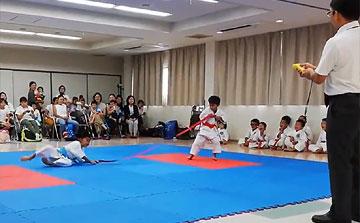 空手運動会 綱引き2(晴城会 城東区)