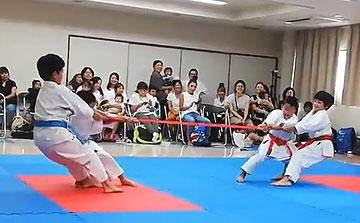 空手運動会 綱引き4(晴城会 城東区)