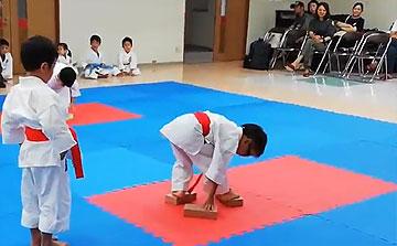 空手運動会 ブロックリレー2(晴城会 城東区)