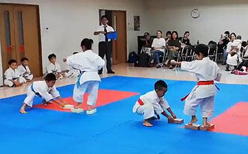 空手運動会 ブロック平安二段1(晴城会 城東区)