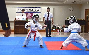 空手運動会 ボール取り組手4(晴城会 城東区)