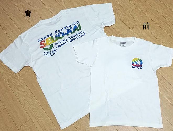 晴城会 空手Tシャツ