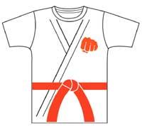 チームTシャツ、空手Tシャツサンプル(晴城会 城東区 空手)